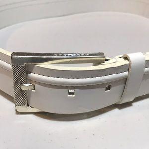 EUC Sean John Leather Belt Size 32